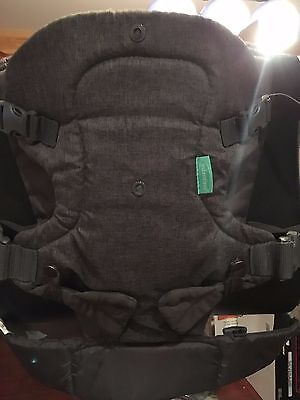 Infantino Flip Advanced 4-in-1 Convertible Carrier, Light Grey #529