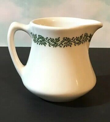CREAMER Vintage Caribe China Puerto Rico Red Leaves Restaurant Ware