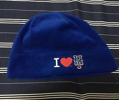 the latest e5af0 d7eb9 New York Mets Collectors Item From 2005 Or 2006 At Shea Stadium Winter Hat  Blue