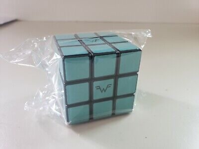 Weezer Teal Album Rubix Cube Sealed Limited Edition SOLD OUT New FREE SHIPPING