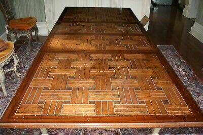 Antique French Louis XV Style Dining Room Table