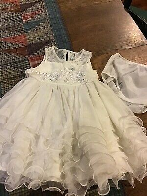2152b3702e6e Chantilly Place Baby Girls Lined Special Occasion Dress....size 12 Months