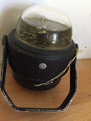 VINTAGE AIRGUIDE MARINE COMPASS MADE IN USA found In Vietnam Disposal Store