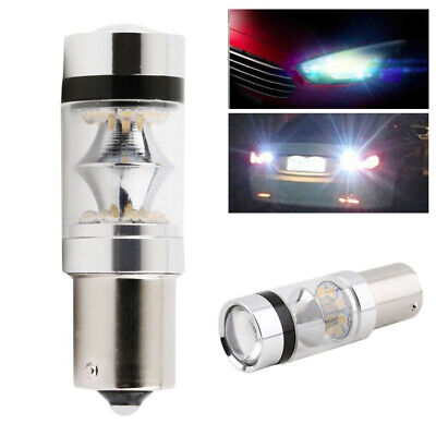 1 X 100W 1156 BA15S P21W Cree XBD LED Stop Reverse Light Lamp Canbus Bulb White