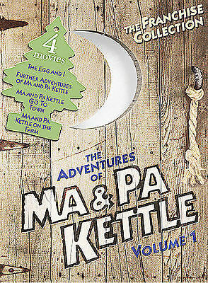 The Adventures of Ma and Pa Kettle - Volume 1 (DVD, 2004) New