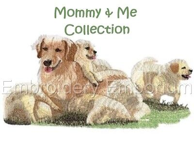 Mommy & Me Collection - Machine Embroidery Designs On Cd Or Usb