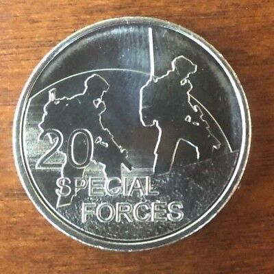 Australian 20c Twenty cent 2016 Special Forces UNC COIN 100 Years of ANZAC