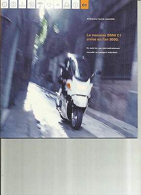 BMW C1 / 1998 / catalogue brochure prospekt dépliant
