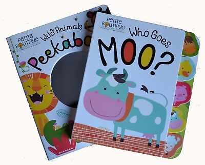 Petite Boutique Baby Gift Collection - Animal Storybooks (2 book set)