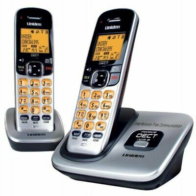 Uniden DECT 3115 +1 CORDLESS PHONE with AC Power Adaptor