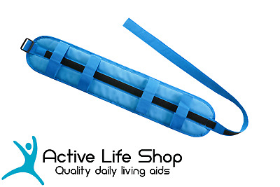 WALKING BELT Patient Lift Transfer Grip Waist Strap Mobility Transport
