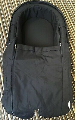 Stokke Xplory V3 Carrycot In Dark Navy In Box, No Hood, With Raincover And Net