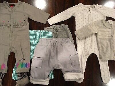 Gorgeous Lot Of Newborn / 0000 Clothes Incl. Purebaby, Catimini, Jacadi, Bonds