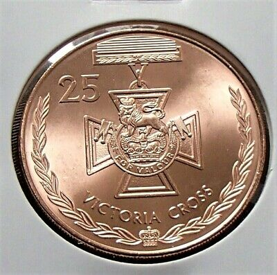 2017 Australian 25 Cent Coin Legends of ANZAC - VICTORIA CROSS Uncirculated