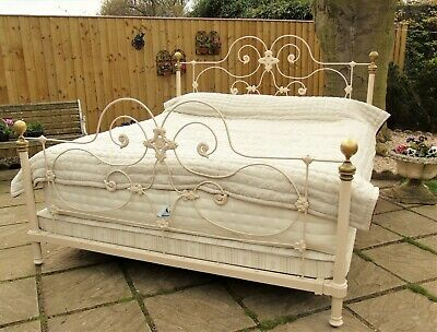 Fabulous Antique Super Kingsize French Bed