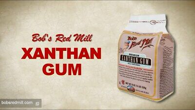 AU Stock Bob's Red Mill, Xanthan Gum, Gluten Free, 8 oz, 226 g GF Kosher Vegan