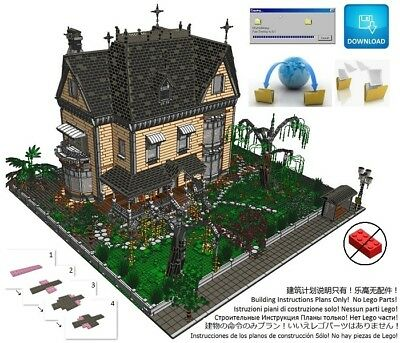 Lego Victorian House Gothic Instructions Modular Custom Building City Town Home