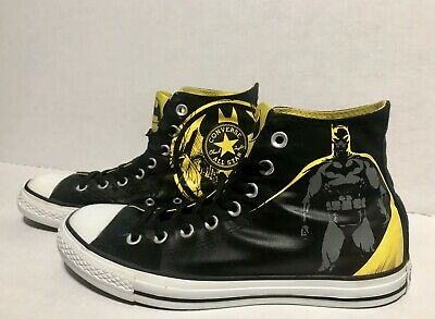 b398be3df24f Adult Converse All Star Chuck Taylor Batman Print DC Comics Men s Size 8  Nice