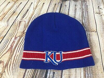quality design cf8bc 55a6b Kansas Jayhawks Beanie Hat Adult One Size Top of the World