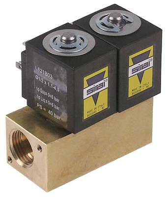 Sirai Solenoid Valve for Pasta Cookers Electrolux 200377,200379,200376,220379