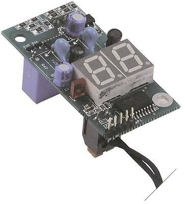 Circuit Board for Thermometer with Sensor 230v Length 68mm Width 33mm Cable 2,0m
