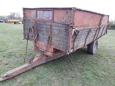 Tractor tipping trailer 4 ton
