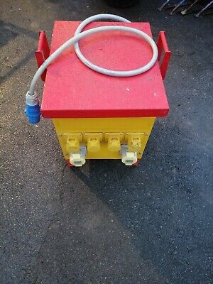 110 volt 5kva site TT transformer in good working order . Delivery possible