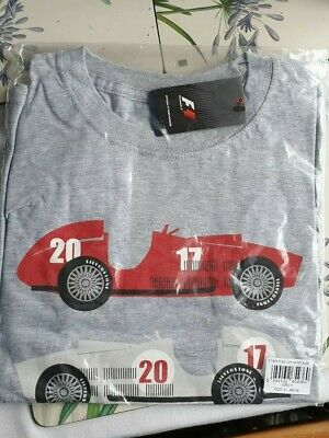 Kids XL Formula 1 2017 British Grand Prix Heritage T-ShirT Grey M14
