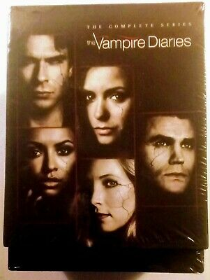 New! The Vampire Diaries: The Complete Series. 39 Disc Dvd Box Set. Ships Free