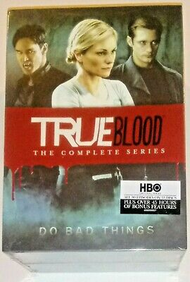 Brand New! True Blood: The Complete Series, 1-7. 33 Disc Dvd Box Set. Ships Free