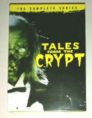 New! Tales From The Crypt: The Complete Series. 20 Disc Dvd Box Set. Free Ship