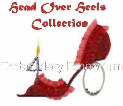 Head Over Heels Collection - Machine Embroidery Designs On Cd Or Usb