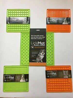 LickiMat - 2 Sizes and 2 Colour Choices - cats, small to medium dogs, puppies