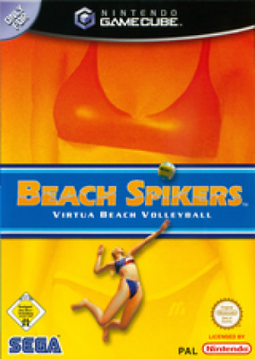 Nintendo GameCube Spiel - Beach Spikers: Virtua Beach Volleyball mit OVP