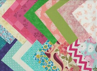 "80 ~5"" Fabric Squares Quilting 5""X 5""Charm Pack Blocks Quilt Patchwork Cotton"