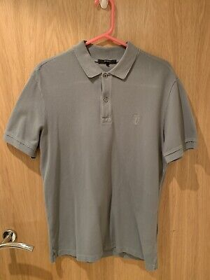 08c74f483 GUCCI SLIM FIT Grey Polo | Large | With Tags - £19.99 | PicClick UK