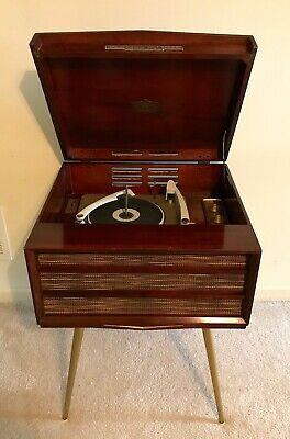 VINTAGE RCA VICTOR Orthophonic Hi-Fi Record Player Model SHF-7 - Fully  Serviced!