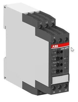 Three-phase monitoring relay ABB CM-MPS.41S