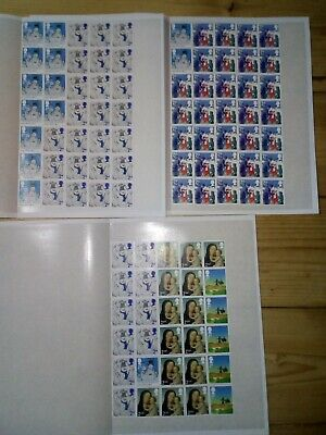 100 2nd CLASS SECURITY STAMPS UNFRANKED OFF PAPER WITH GUM £61 VALUE 61p   (102)