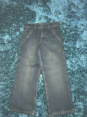 BNWT Sz 5 (possibly Age 8-9 Years) Timberland Jeans Inside Leg 52 Cm