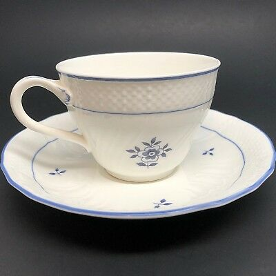 Villeroy & Boch Coburg Cup and Saucer Set Heinrich Germany Bone China