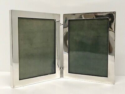 Antiq Hennegan-Bates Picture Photo Double Hinged Frames American Sterling Silver