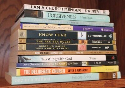 Lot 12 Christian Theology ~ Francis Chan, Mark Dever, Priscilla Shirer...VG!