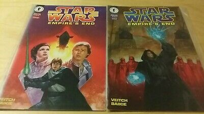 Dark Horse Comics - Star Wars: Empire's End - #1 #2  Complete Mini