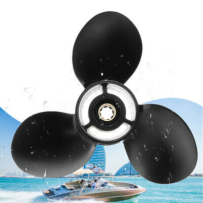 9x10 1/2 Aluminum Boat Ship Outboard Propeller For Mercury 6-15HP 48-828158A12