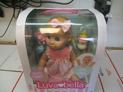 New Luvabella Blonde Hair Caucasian Interactive Doll Real Movement & Expressions