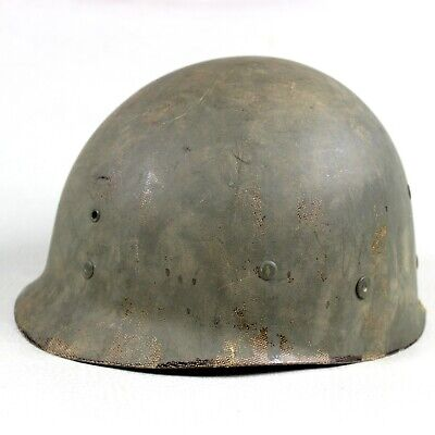 Us Ww2 M1 Helmet High Pressure Liner Od3 Suspension Nape Strap Westinghouse Wo