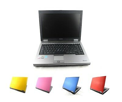 "CHEAP TOSHIBA Laptop WINDOWS 7 2GB 4GB RAM 14"" Screen WiFi DVD RED BLUE YELLOW"
