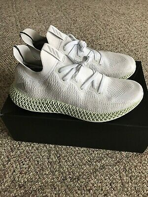 8a6c9baa1 ADIDAS ZX 4000 Futurecraft 4D Grey One 8-13 Core Black Bright Cyan ...