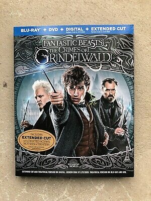 Fantastic Beasts: The Crimes of Grindelwald Blu-ray/DVD